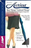 Activa Sheer Therapy Graduated Therapy 15-20 mmHg Graduated Support Compression