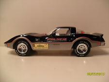 Jim Beam 1978 Pace Car Corvette Black & Silver Decanter