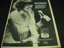 Bill Wray a new way with Bill Wray excitement from Louisiana 1976 Promo Ad mint