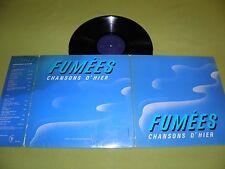 Fumees Chansons D'Hier RARE France Limited Edition LP Regie Francaise des Tabac