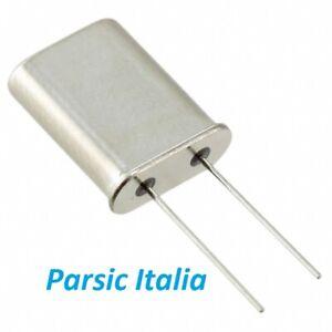 4.433619 MHz 4.433619MHz Quarzo HC49/U Profilo alto  2 PIN ( QTY: 6 PEZZI)