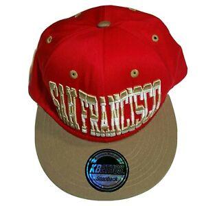 SAN FRANCISCO City KBETHOS Snapback Cap Hat California Baseball Caps Hats NEW