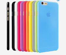 0.3mm Ultra Thin Slim New Frosted Matte Back Case Cover For APPLE IPHONE //GBM