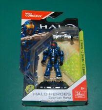 MEGA CONSTRUX HALO HEROES -  Spartan Hoya Series 3 Mini Figure DXR53 24 Pc - NIB