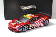 1:18 Elite Ferrari 458 Italia gt2 LM 2012-AF Corse New chez Premium-modelcars