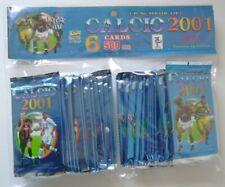Schede Calcio 2001 Cards II Ed. Box 30 Bustine Mundicromo