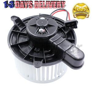 HVAC Blower Heater Motor w/ Fan Cage Fits Mazda 6 Ford F250 Super Duty