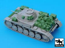 Pz.Kpfw. II Ausf C accessories set  cat.n.: T35032 , BLACK DOG, 1:35