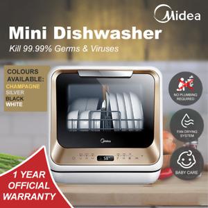 Second Generation Midea Benchtop Multifunction Mini Portable Dishwasher