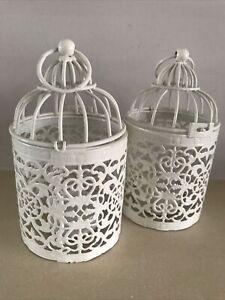 Bird Cage Tealight Holders