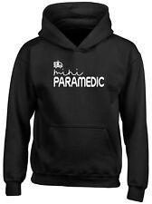 Mini Paramedic Childrens Kids Hooded Top Hoodie Boys Girls