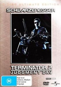 Terminator 2 Judgement Day Ultimate Edition Linda Hamilton (DVD 1991 2-Disc) R4