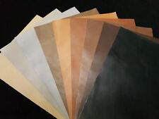 Leder, Glattleder, Lederzuschnitt DIN-A1/2/3/4 Schwarz,Braun,Grau,Natur