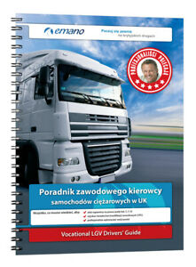 Poręcznik do egzaminu CPC na ciężarówki lub autobusy LGV/PCV do wyboru 2021 Book
