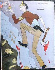 1950 Russian Satirical Anti-American Magazine Krokodil Artists Kukryniksy Efimov