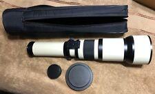 Phoenix MZ-5000 Lens 650-1300mm Zoom Telephoto Canon EOS Rebel Digital Cameras