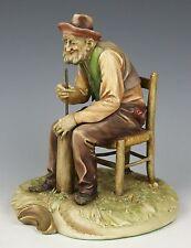 "Capodimonte Antonio Borsato Figurine 1068 ""Domestic Work"" WorldWide"