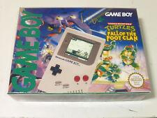 game boy custom box TMNT Ninja Turtles Fall of the Foot clan Nintendo just box