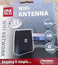 One For All 8dBi WiFi Antenna     *** RRP £39.99  BNIB ***