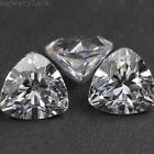 Pure White Sapphire Unheated Man-made Triangular Zircon AAAA+Loose Gemstones