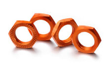 Ecrous de roue soi verrouillage 17mm orange (4)
