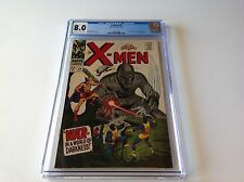 X-Men 34 Cgc 8.0 Mole Man Tyrannus Robot Cover Marvel Comics