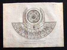 Antigüedad 1800 impresión constructores revista un vestidor techo para una villa XCII