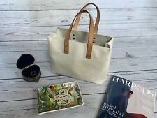 £950 Genuine Louis Vuitton Bag, Vernis LV Monogram Ivory Patent Leather Tote Bag