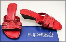Diana Ferrari Wedge Leather Sandals & Flip Flops for Women