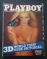 AUSTRALIAN PLAYBOY ENTERTAINMENT FOR MEN Australian Men's Magazine October,1979