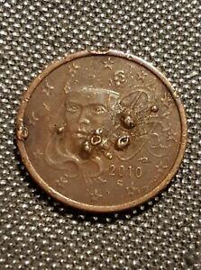 Pièce de 5 centimes euroFrance 2010 fautée