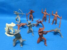 Werner 1950's cowboys and Indians X11 in excellent condition-nice colors