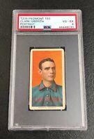 Cincinnati Reds Clark Griffith 1909 T206 Piedmont 150 PSA 4 Vg-Ex Portrait