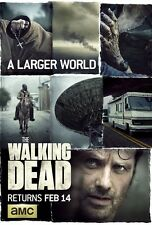 The Walking Dead poster print  Seas 6 pt2 : 11 x 17 inches Andrew Lincoln poster