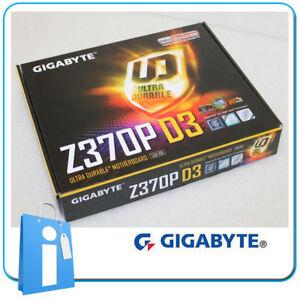 Placa base intel 8th / 9th GIGABYTE Z370P D3 Socket 1151 con Accesorios