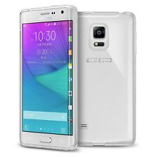 For Samsung Galsxy Note Edge Flexible Storng TPU Soft Gel Clear Transparent Case