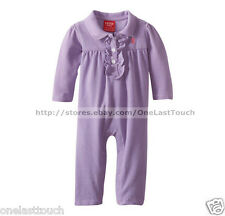IZOD Infant/Baby Girl LAVENDER ONE PIECE Coverall Long Sleeve 6-9 MONTHS Ruffle