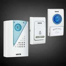 Home & shop welcome Security Wireless 1 Door Bell & 2 Remote Control  38 Music*
