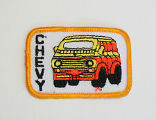Vtg Custom Small Chevy Chevrolet Mod Racing Van Patch New NOS 1970s
