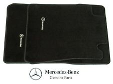 Genuine For Mercedes Benz R129 91-02 SL320 SL500 SL600 Black Carpeted Floor Mats