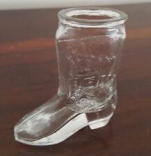 Jim Beam No. 10 Cowboy Boot Shot Glass