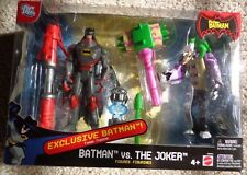 The Batman Vs the Joker Exclusive figure DC Mattel Brand New