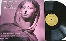 C.P.E. Bach Magnificat Ameling Thoma 1st Harmonia Mundi 30821 ST Presque comme neuf 200gr. vinyl