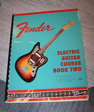 Vintage Fender Guitar Course Book Two instruction book circa 1966
