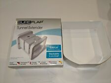 SureFlap Microchip Cat Flap Tunnel Extender in White, Tun001, x1 = 2.5 - 4.5in.