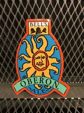 BELLS BREWERY Michigan ~ 4 X 5 ~ OBERON Ale Sun ~ Craft Beer Sticker Sign