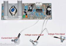 Regulator Power Supply LM723 Circuit Module AC-DC 0-30VDC Current Limit 1-3A