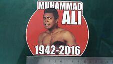 Muhammad Ali 1942-2016 Sticker Decal,  laptop, helmet, bike, car, Van,  signed
