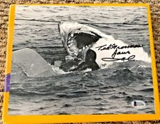 Ted Grossman Autographed 8 X 10 Jaws Photo Beckett Certified Pose 2