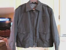 BLAUER BLACK POLICE OFFICER JACKET LINED THERMOLITE MEN XL 48-50 QUICK SHIPPER